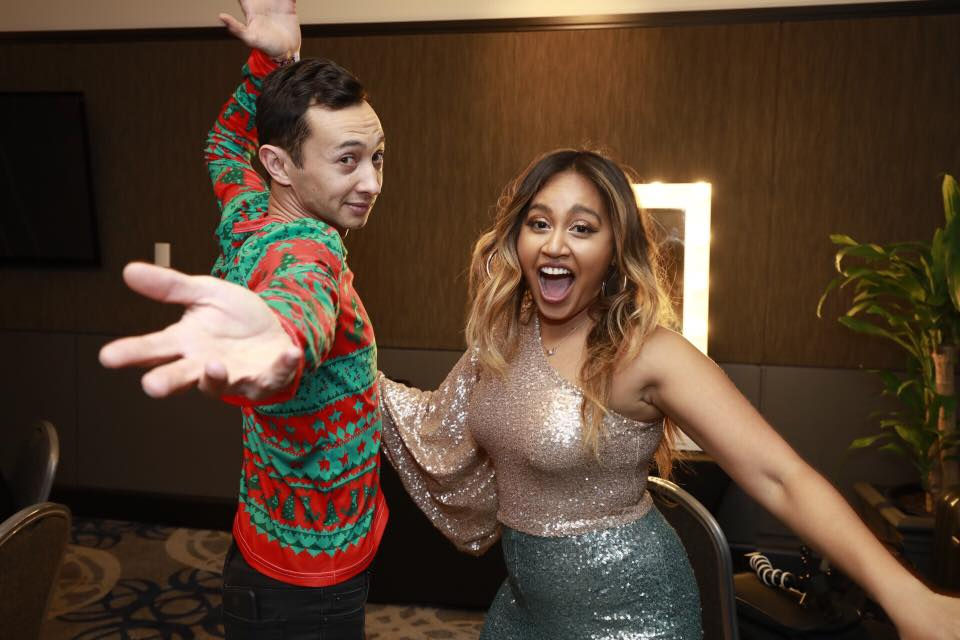 Pat and Jessica Mauboy